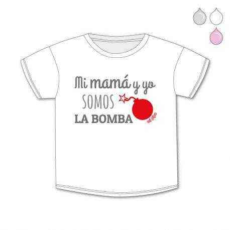 camiseta original la bomba