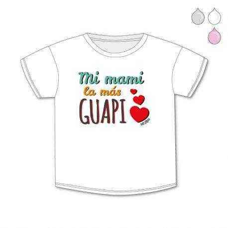 camiseta bebe guapi