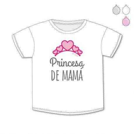 camiseta princesa de mama
