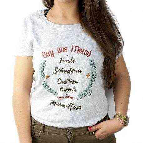 camiseta soy mama