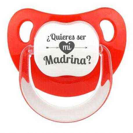 chupete QUIERES SER MI MADRINA