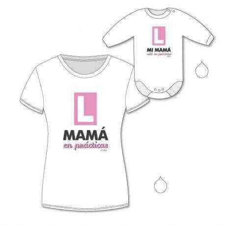 mama en practicas bebe
