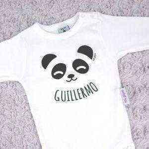 oso panda personalizado con nombre