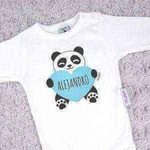 body personalizado oso panda