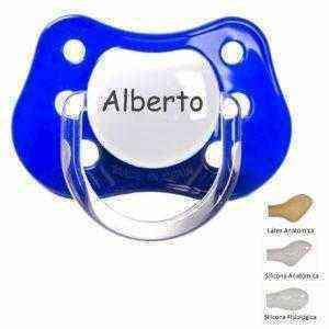 chupete personalizado azul
