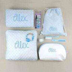 pack personalizado bebé niño