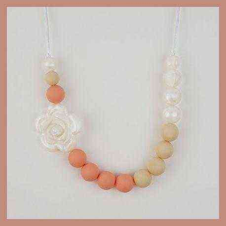 collar de lactancia salmon