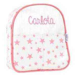 mochila niña personalizada nombre