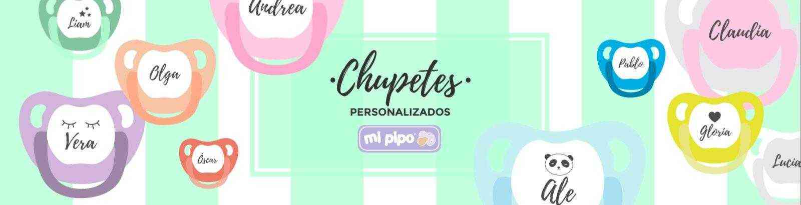 chupetes mipipo personalizados