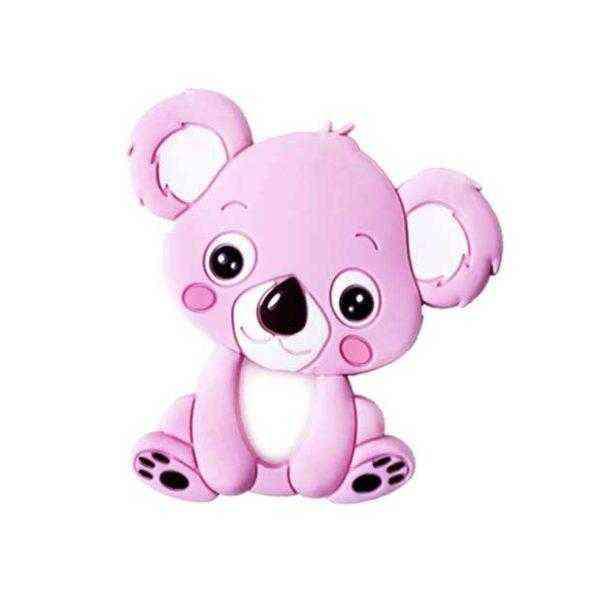 mordedor koala rosa