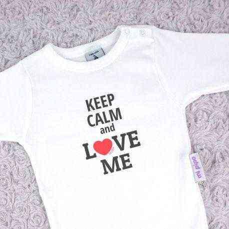 body divertido bebe keep calm