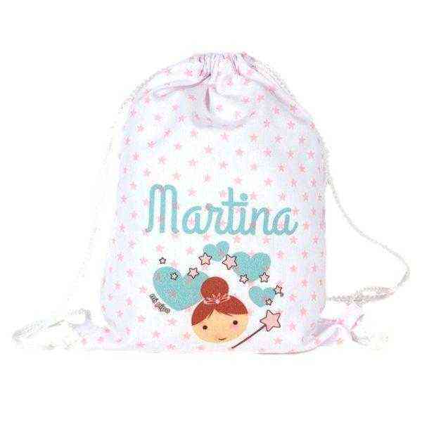 petate niña personalizado mochila
