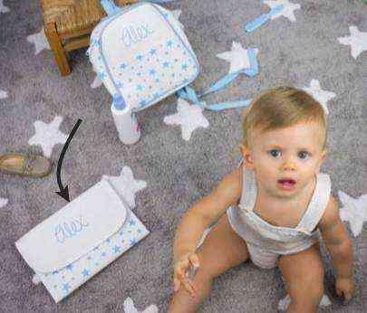portadocumentos personalizado bebe