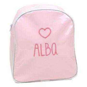 venta caliente online 2a111 626e1 Mochila Personalizada Infantil Rosa Premium