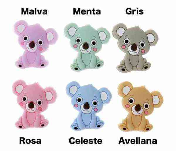 Koala chupetero personalizado
