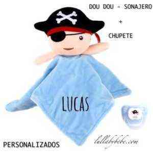 Dou dou Personalizado pirata