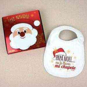 babero navidad bebé