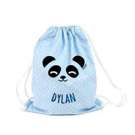 petate mochila panda infantil nombre