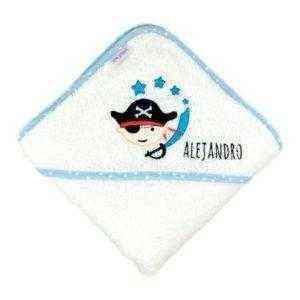 capa de baño bebe personalizada