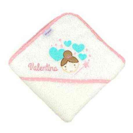 capa personalizada baño bebe