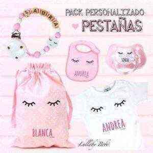 pack regalo bebé pestañas