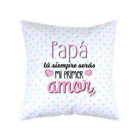 cojín papa primer amor