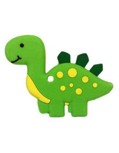 mordedor dinosaurio silicona