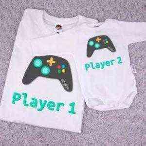 camiseta papa niño bebé