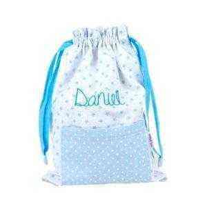 bolsa tela bebé guarderia personalizado