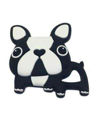 mordedor silicona perro bulldog