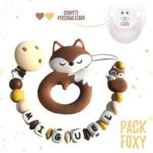 Chupetero zorrito foxy