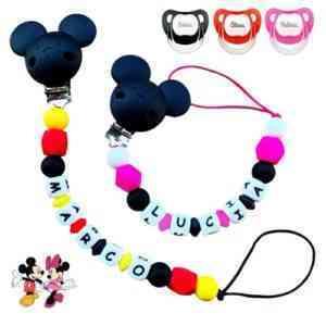 Chupetero silicona Mickey
