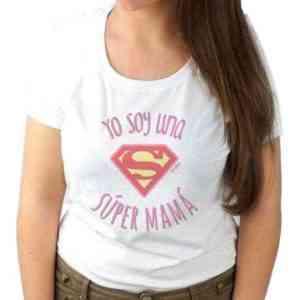 camiseta súper mamá