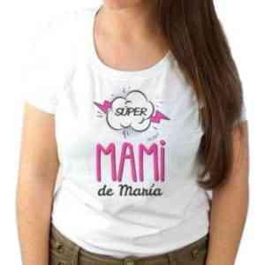Camiseta mamá Súper mami