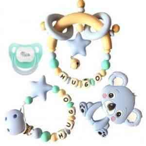 chupeteros regalo bebé silicona