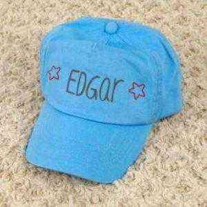 gorra azul personalizada