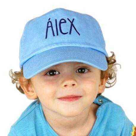 gorra niño personalizada