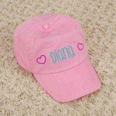 gorra niña personalizada