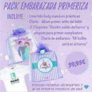 regalo embarazada primeriza nueva mama