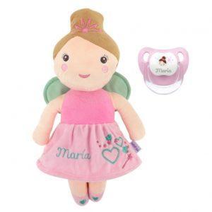 chupete muñeca personalizada