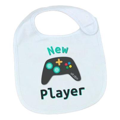 babero new player consola