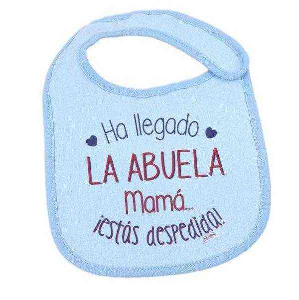 regalo abuela bebe babero
