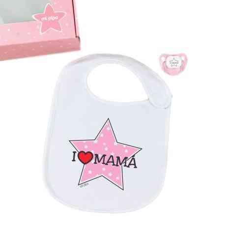 babero i love mama rosa