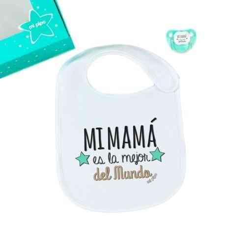 pack regalo bebe menta