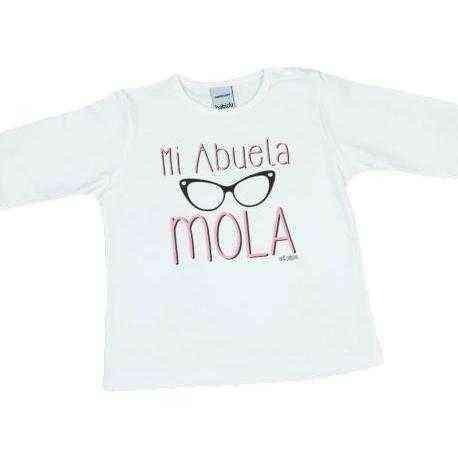 camiseta abuela bebe mola
