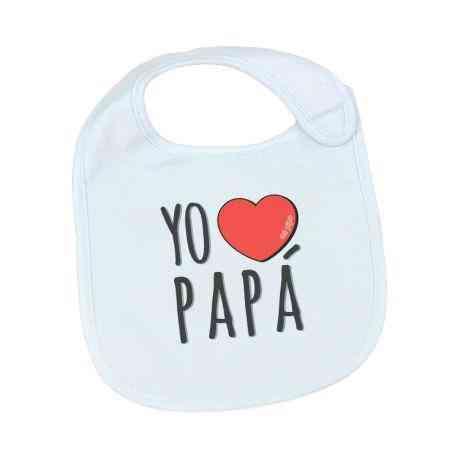 babero yo quiero a papa