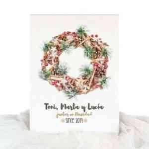decoracion navideña personalizada