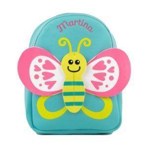 mochila mariposa niña