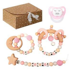 caja regalo bebé personalizada