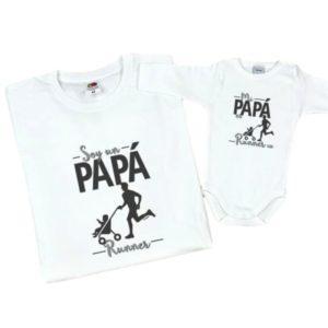papá runner bebe